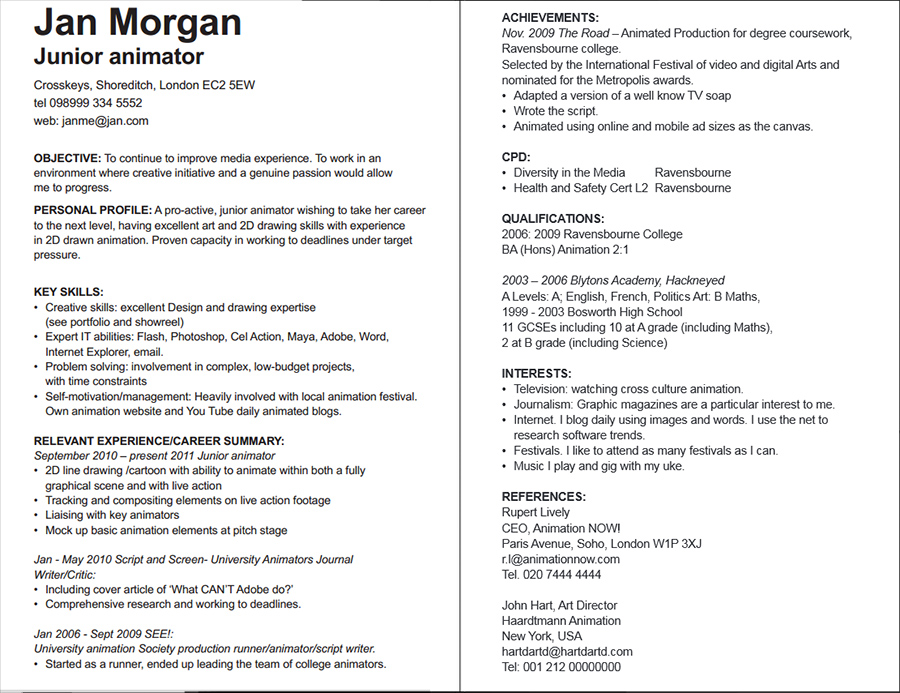 CV - should I include?